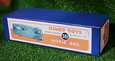DINKY Reproduction Box 581 Horse Box (980/981)