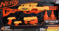 NERF Battalion Alpha Strike E8444 Blaster 33 Pcs Set New Boys Toy Gun Gift 8+