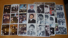 TOPPS  THE BEATLES  TRADING CARDS  LOTS OF 60 FROM DIFFERENT SERIES  COLOR  B/W