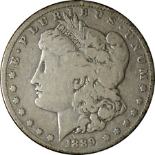 1889-CC Morgan Silver Dollar Nice VG Key Date Nice Eye Appeal Nice Strike