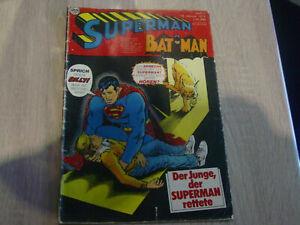 Superman Comicheft, Nr. 2 , von 1974, alt, selten Leseheft !