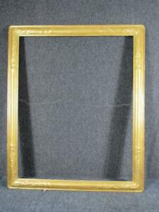 ANTIQUE NEWCOMB MACKLIN HAND CARVED PAINTING FRAME, ARTS & CRAFTS, fits 24x30""