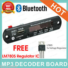 Bluetooth MP3 Module With Dancing Display, FM, USB,AUX,Card, MP3 Decoder Module