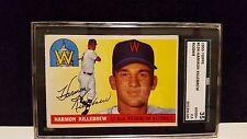 1955 Topps Baseball card Harmon Killebrew #124 SGC 2.5 rookie rc