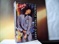 TERENCE TRENT D'ARBY  ++  INTRODUCING THE HARDLINE / LIVE  ++ VHS - VIDEO  ++