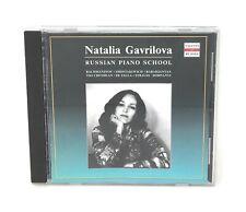 Natalia Gavrilova: Russian Piano School (Strauss,Rachmaninov,+) Talents CD