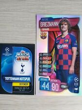 MATCH ATTAX 19/20 VERY RARE ANTOINE GRIEZMANN OVERSIZE CARD XL2 - MINT