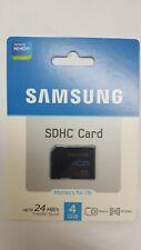 GENUINE SAMSUNG SD 4GB SDHC CARD CLASS 4 BRAND NEW UNUSED UNOPENED