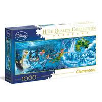 New Clementoni Disney Peter Pan Panorama 1000 Piece Jigsaw Puzzle Night Flight
