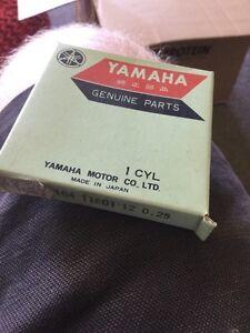 Yamaha CS1 HT1 Piston Rings .25 Nos NLA 164-11601-12*