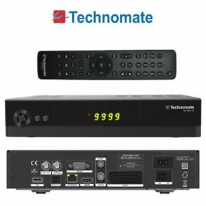 Technomate TM-5402 HD M4 DVB-S2 Full HD 1080p Satellite Receiver LAN USB PVR