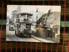 LONDON BUS PHOTO B/W LT19(SP) UU6676 Route161 Sidcup Perry Street