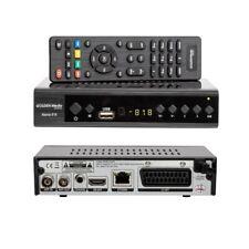DVB T2 Golden Media Mania 818 HD DVB-T2 H.265 HEVC Receiver Youtube LAN USB TV