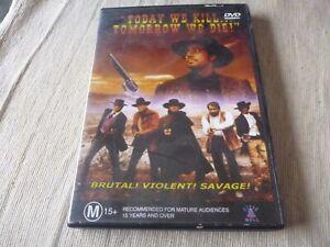 Today We Kill ... Tomorrow We Die (DVD) Region Free  Brett Halsey, Bud Spencer