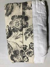 Pottery Barn June Print Bedskirt Full Cool Multi New