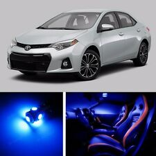 9pcs LED Blue Light Interior Package Kit for  Toyota Corolla 2014-2016
