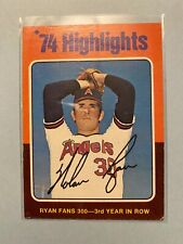 A38,671 - 1975 Topps #5 Nolan Ryan HL/Fans 300 for/3rd Year in a Row
