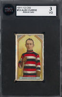 1911-12 C55 Imperial Tobacco Hockey #13 Alex Currie rc KSA 3 VG Rookie Ottawa