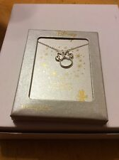 $68 disney Minnie Mouse sterling silver necklace