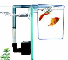 External Refugium Breeder HangOn Box Hang-on Filter Hanging Aquarium Fish Tank