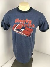 2004 California STARSKY & HUTCH M T-Shirt David Soul Paul Michael Glaser Ringer