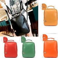 2016 NEU Damen Mode English Retro Vintage PU Leder Rucksack Handtasche Bag