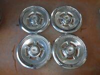 """1970 70 Chevrolet Camaro Hubcap Rim Wheel Cover Hub Cap 14"""" OEM USED 3037 SET 4"""