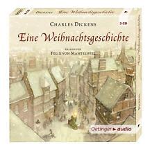 Dickens, Charles - Eine Weihnachtsgeschichte: Ungekürzte Lesung - CD