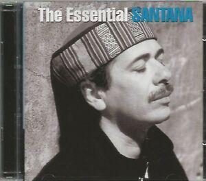 SANTANA  -  THE ESSENTIAL SANTANA.  /   2 CD SET .  OZ PRESSING.  CARLOS SANTANA