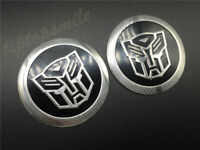 3D Transformer Autobot Car Emblem Decal Auto Body Badge Stickers Fairing Motors