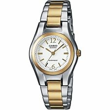 Details zu Casio Uhr LTP 1281PD 1AEF Damen Armbanduhr Edelstahl Silber Schwarz NEU & OVP