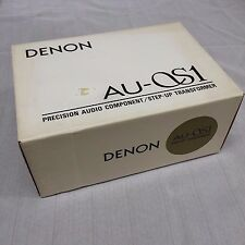 Denon AU-S1 MC Step Up Transformer, Made in Japan (Used)