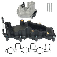Right For Audi A4 A6 A8 Q7 VW TOUAREG 2.7 3.0TDI Intake Manifold+Actuator 4pins