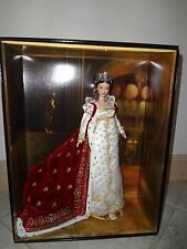 BARBIE EMPRESS JOSEPHINE  DOLL NRFB GOLD LABEL WITH SHIPPER