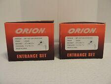 Two (2) Orion Mobile Home Keyed Entry Lockset StainlessSteel BP100T GN US32D KA5