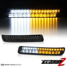 "2000-2006 GMC Sierra Yukon XL ""FULL LED"" DRL Parking Turn Signal Bumper Lights"