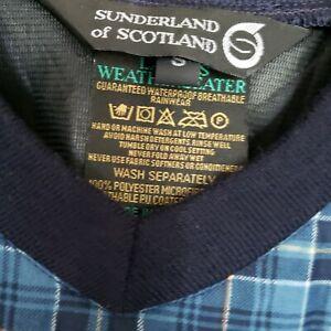 Sunderland Of Scotland Original Weatherbeater Windbreaker Plaid Pullover LPGA S