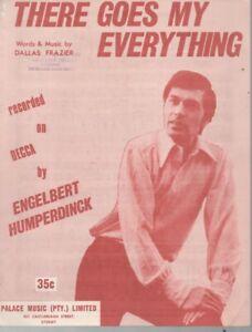 "ENGELBERT HUMPERDINCK  Rare 1966 Aust Only OOP Orig Sheet Music ""My Everything"""