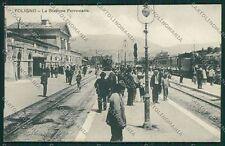 Perugia Foligno Stazione Treno cartolina EE5140