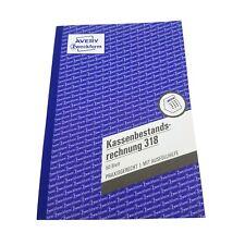 Avery Zweckform 318 Kassenbestandsrechnung Buchführung A5 Kassen Bestand