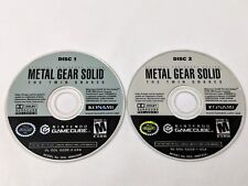 Metal Gear Solid Twin Snakes - Nintendo GameCube & Wii *TESTED & WORK*
