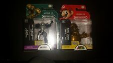 World of Nintendo Walgreens Exclusive Gold Wario & Metroid Phazon Suit Samus