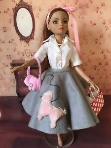 """ellowyne wilde """"Peggy Sue """" in the 50s doll outfit"""