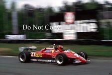 Gilles Villeneuve Ferrari 126 C2 Belgian Grand Prix 1982 Photograph 1