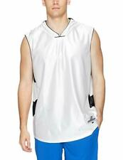 Intensity Mens Dazzle Chevron Basketball Jersey White/Black Size Large