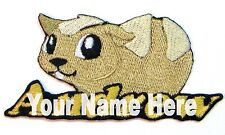 Guinea Pig Custom Iron-on Patch With Name Personalized Free