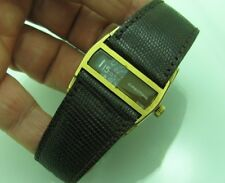 VINTAGE DIRECTIME AUTOMATIC DIGITAL JUMP HOUR GOLDFILLED 34MM RARE MEN WATCH