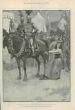 1890-ANTIQUE PRINT fine art MERVEILLEUSE AVENTURE Phra phénicien Paget (115)