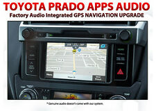 Toyota Prado 2013 - 2015 May Apps Audio Integrated GPS Sat Nav Upgrade DIY Kit