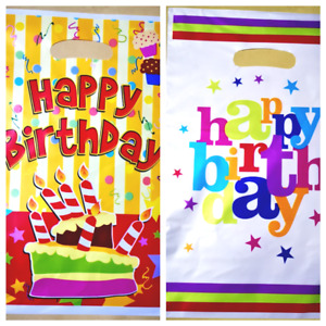 Childrens PARTY FAVOUR GIFT BAGS Kids Loot Girl Boy Filler Sweet BIRTHDAY Treat
